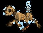 Don't Starve Ponies - WX-78