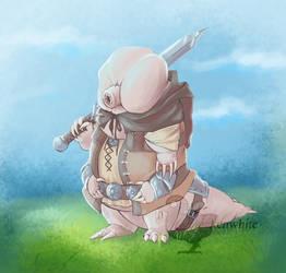 Tardigrade knight