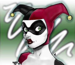 Harley Quinn Colors