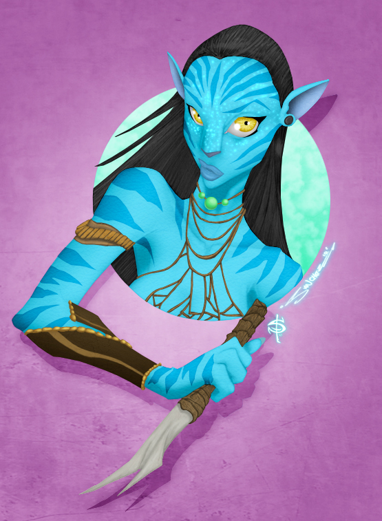 Neytiri by Smitty-Tut