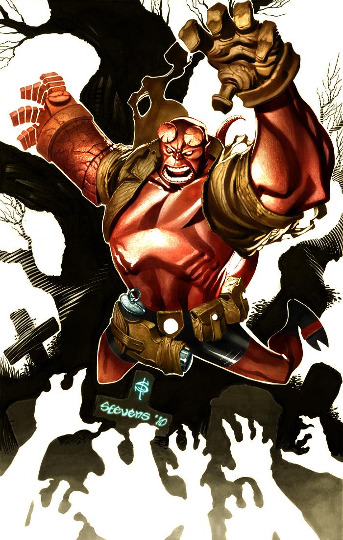 Hellboy by Smitty-Tut