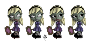 Zombie Chick Color Combos