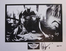 Greg Capullo Batman Print
