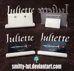 Metal Business Card Holders: Juliette