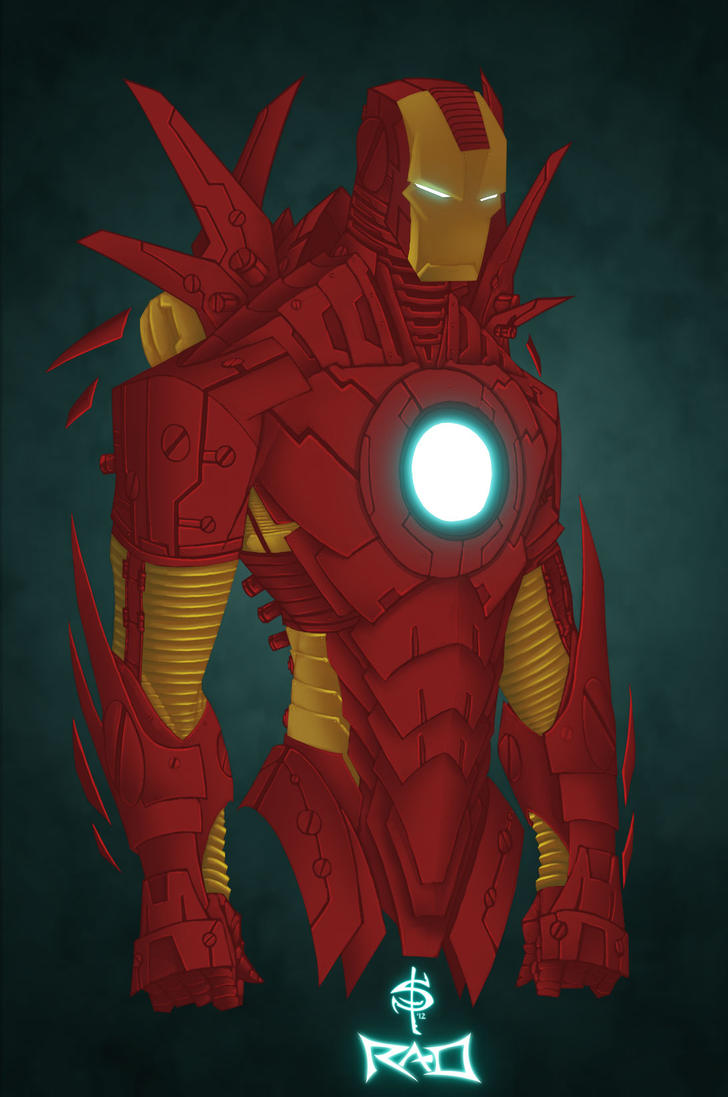 Iron Man MK 3 by Smitty-Tut