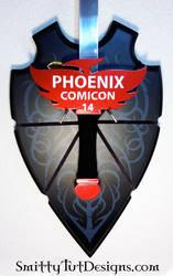 Phoenix Comicon Sword Exclusive- ST Original by Smitty-Tut