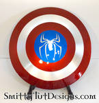Spiderman Shield by Smitty-Tut