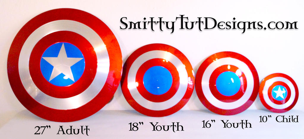 Shield Sizes Available