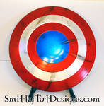 Battle Damaged Shield - 1 by Smitty-Tut