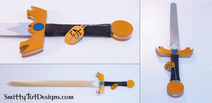 Adventure Time Title Sword