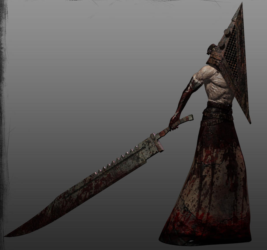 Pyramid Head Weapon 3 by Smitty-Tut