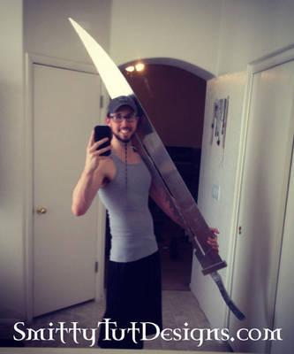 6.5 Foot Tall- Fully Aluminum Pyramid Head Sword