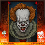 Pennywise Digital Colorwork- With Border