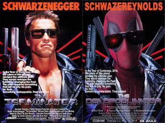 Deadpool Terminator Mock Up Poster