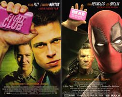 Deadpool Fight Club Mock Up Poster