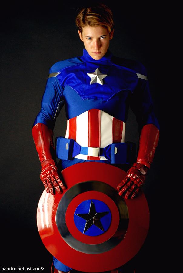 Captain America by SandroSebastiani
