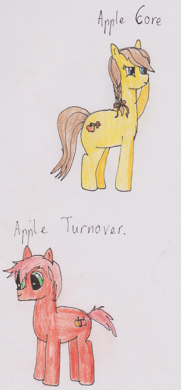 Apple Core and Apple Turnover by Errand-Girl