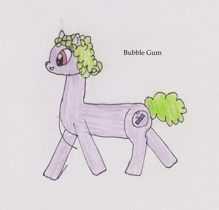 Bubble Gum by Errand-Girl