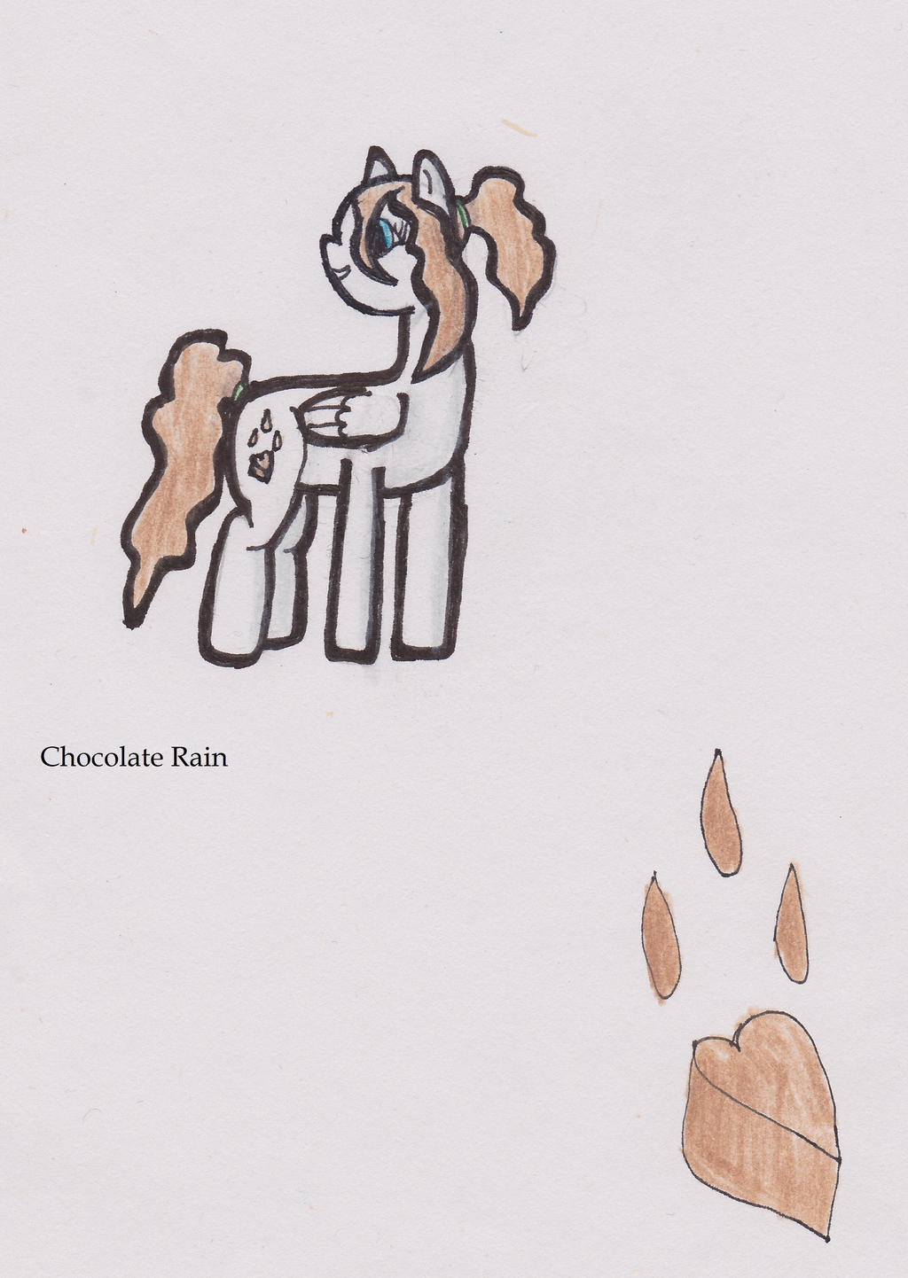 Chocolate Rain by Errand-Girl