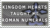 Kingdom Hearts Stamp by Taihen-Ren-chan
