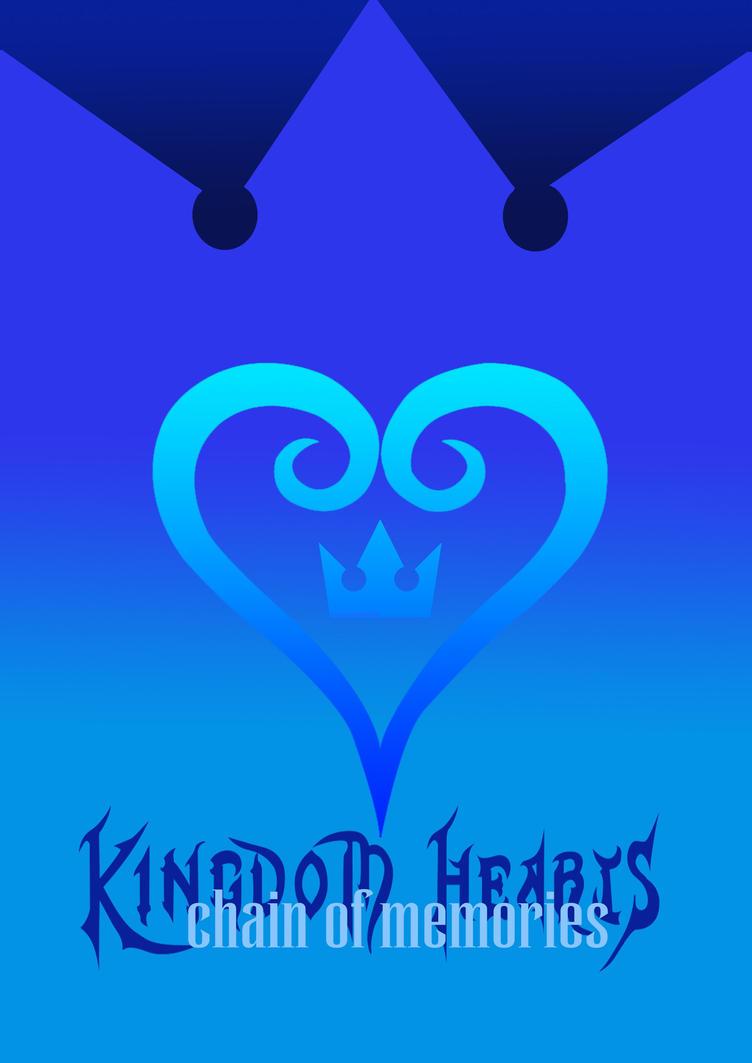 Cartel 1: Kingdom Hearts ~ Chain of memories by Olalla-San