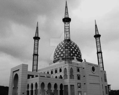 Mosque Architecture by Miairdan