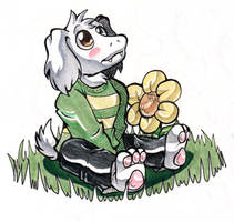 Asriel by Nekoise-the-Akatsuki