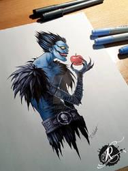 Ryuk Tattoodesign for Markus