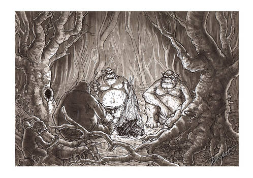 02: The Hobbit - The 3 trolls