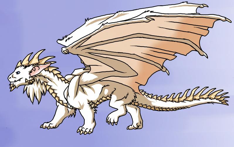 White Dragon by NovaCatTrueborn