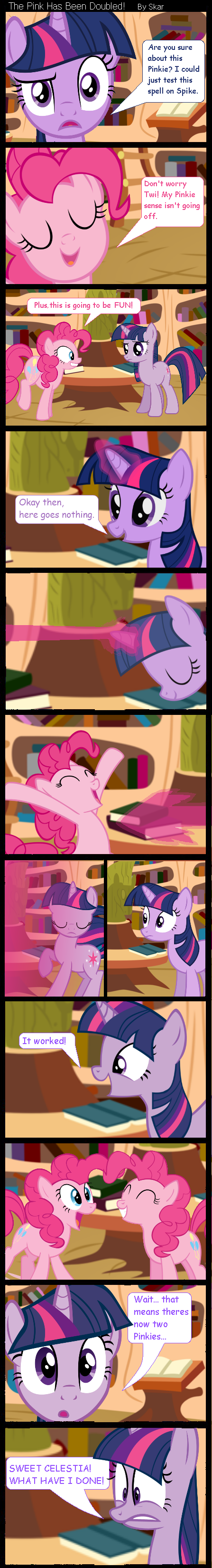 The Pink Has Been Doubled! by DeviantDalton