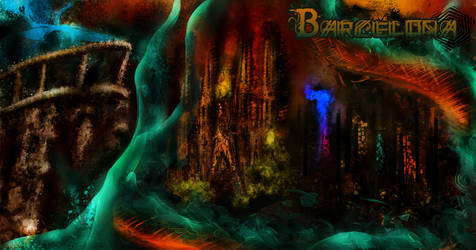 My Barcelona and the Serpent by pankyrou