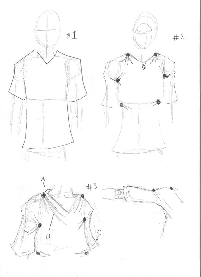 Drawing Tutorial: cloths by gabboge