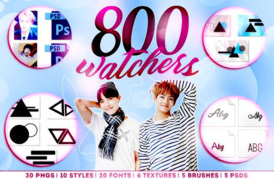 800 WATCHERS!