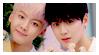 STAMP: Eunwoo and Sanha #1 by Hallyumi