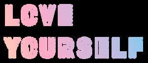 LOGO: BTS Love Yourself