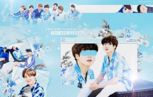 + BTS Blue Summer by Hallyumi
