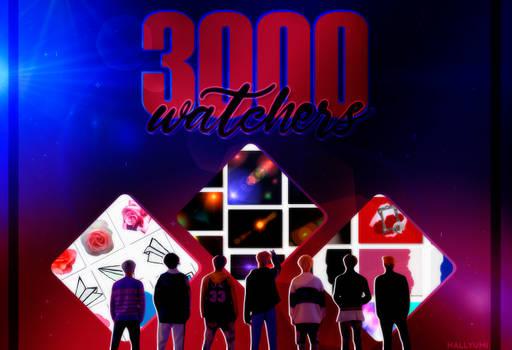 3000 WATCHERS PACK!
