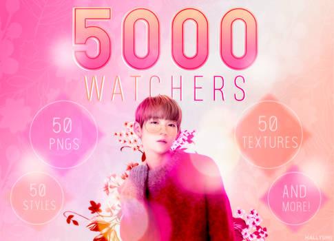 5000 WATCHERS PACK!