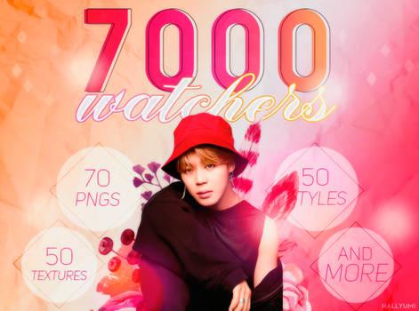 7000 WATCHERS PACK!