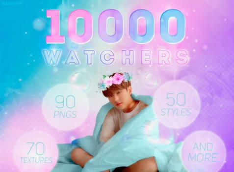 10.000 WATCHERS PACK!
