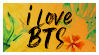 STAMP: I love BTS (Tropical) by Hallyumi