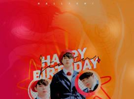 +HAPPY BIRTHDAY JIMIN by Hallyumi