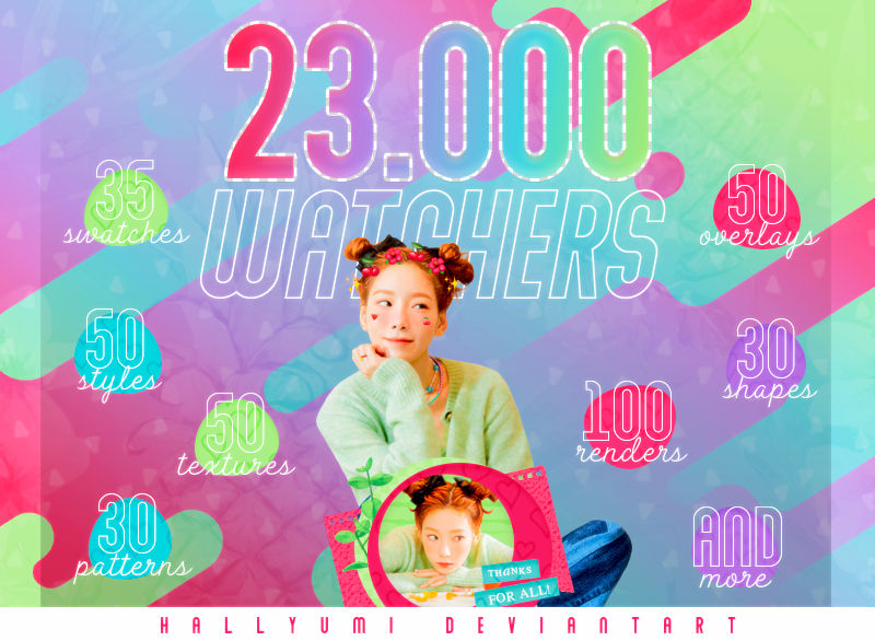 MEGA PACK: 23K WATCHERS!