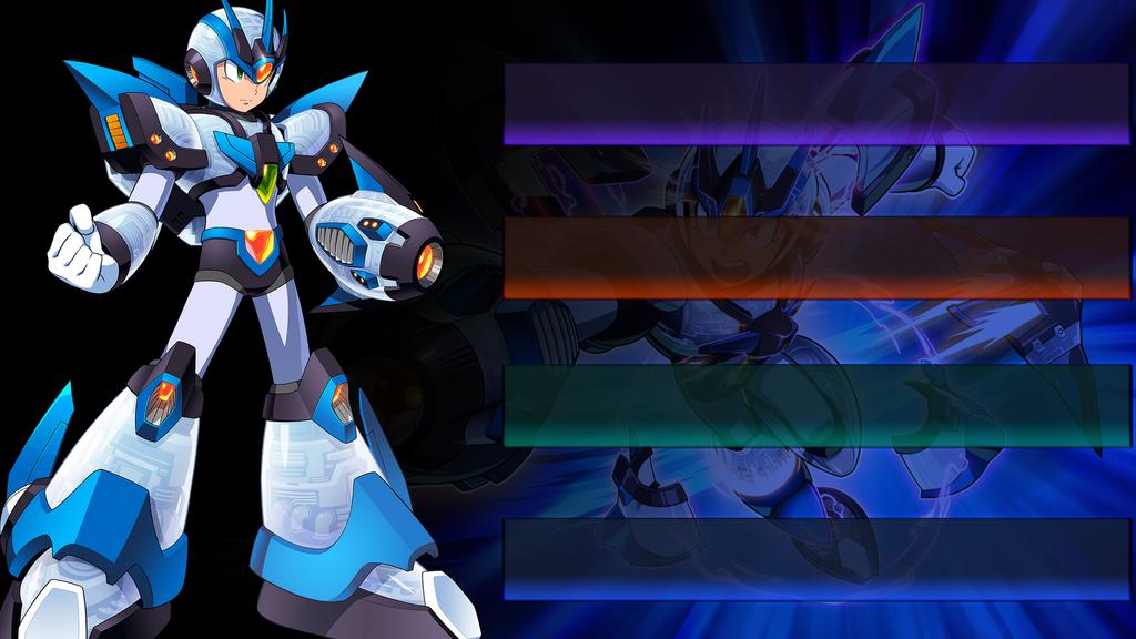 Megaman X [Legacy Armor] - Wallpaper by Vandagen