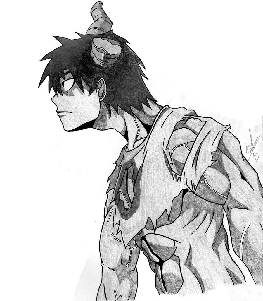 Hataraku Maou-sama - Demon form by Lanky-Nathan on DeviantArt