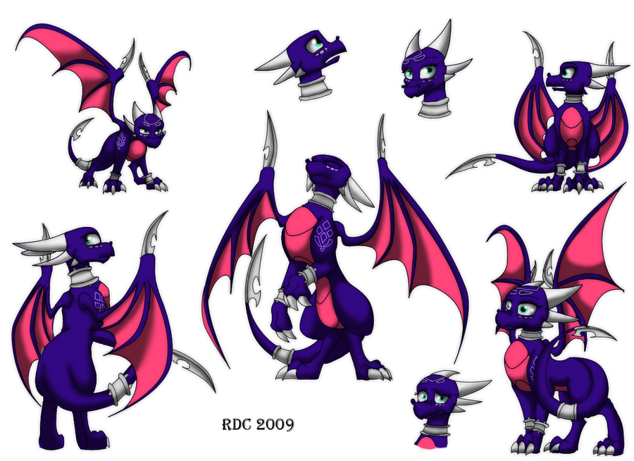 Cynder the Dragon by sotashaandranulf