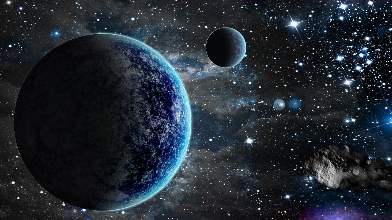 Blue Space by turkeydu...