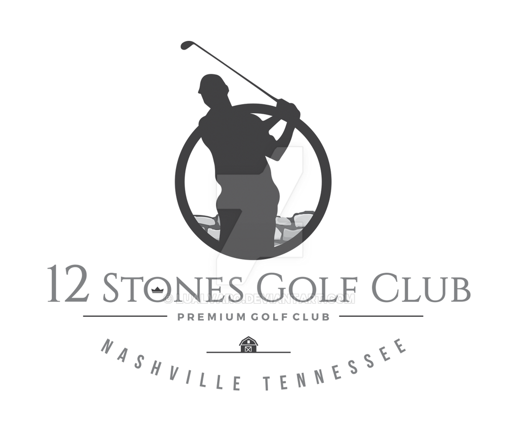 12 stones golf club logo by lualvaro on deviantart