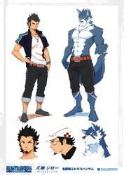 Beast Rancer Inugami Jiro by javidavie